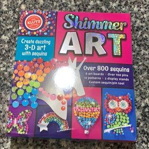 Klutz Shimmer Art Kit. NWT.